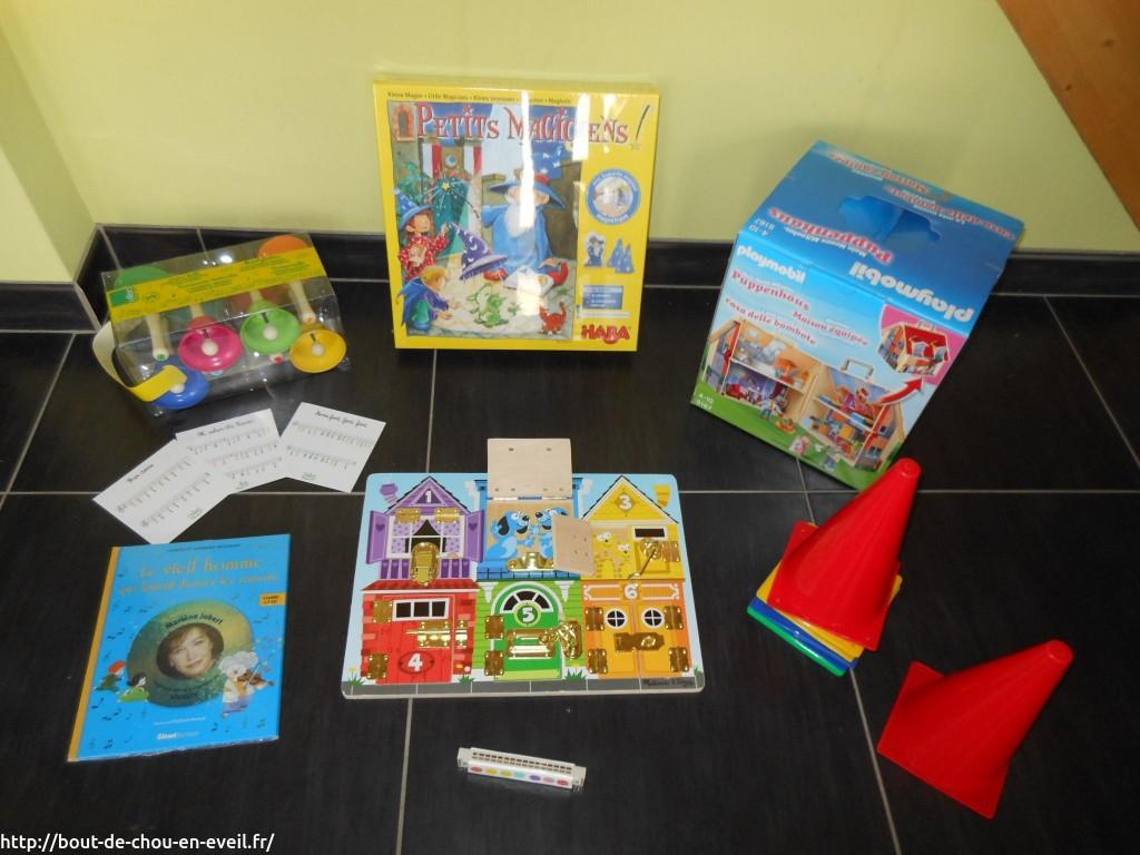 Idées cadeaux enfant de 1 à 4 ans