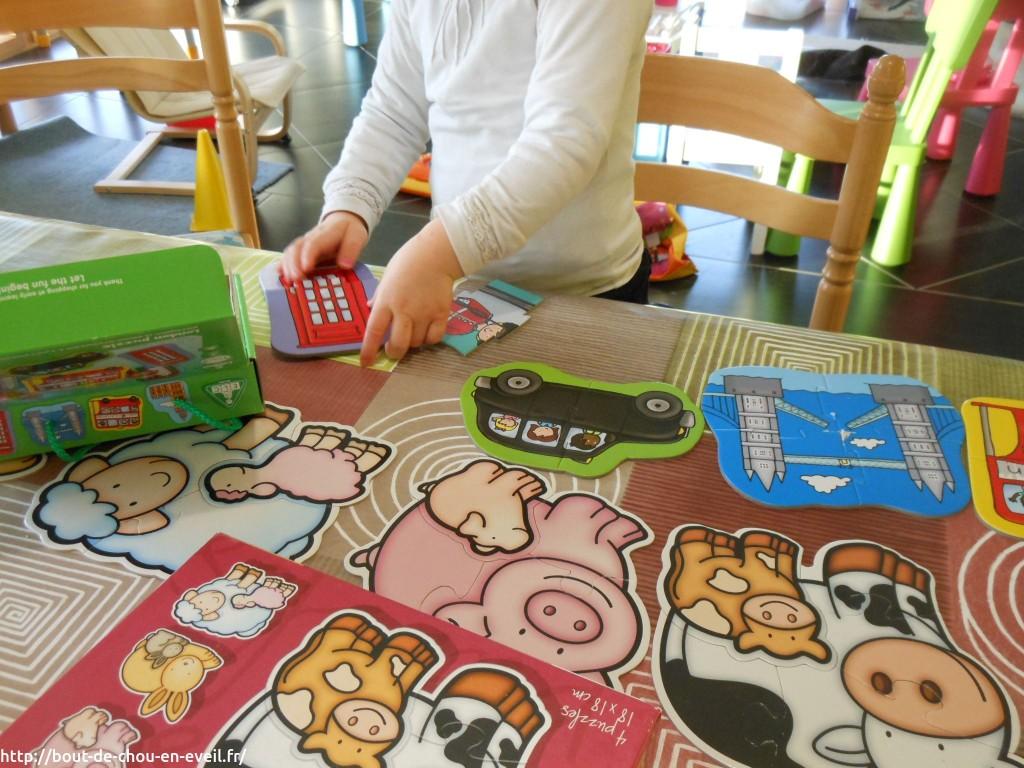 Puzzle pour enfant 3 ans 4 ans